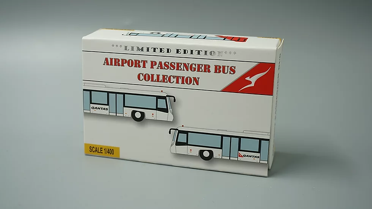 Airport Passenger Bus ( Airline Version ) 1/400 (4in1 Set) Fantasywings AA4003
