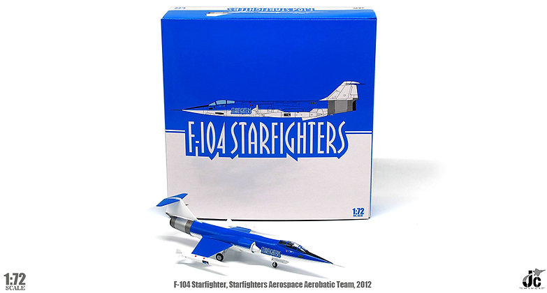 F-104 Starfighters Aerospace Aerobatic Team, 2012 N104RB 1/72 JCW-72-F104-001