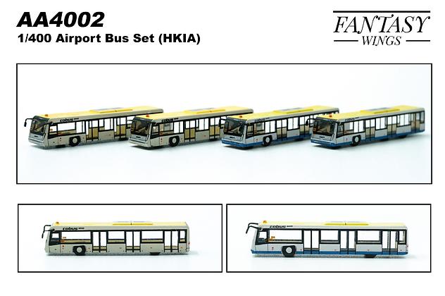Airport Passenger Cobus Hong Kong Version 1/400 (4in1 Set) Fantasywings AA4002