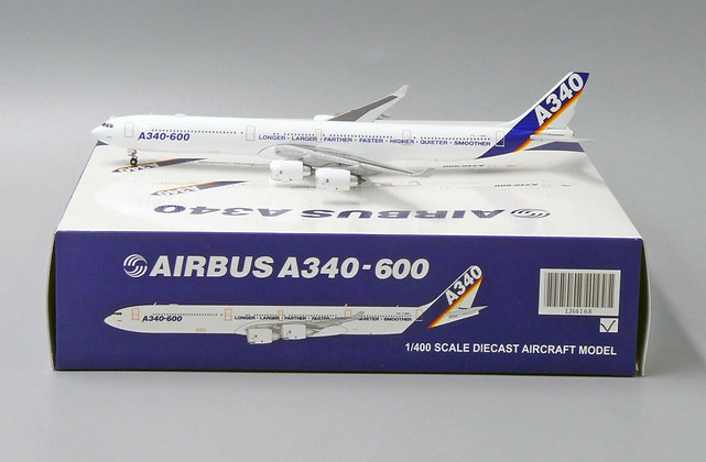 Airbus A340-600 Reg: F-WWCC JC Wings Scale 1:400 Diecast model LH4168