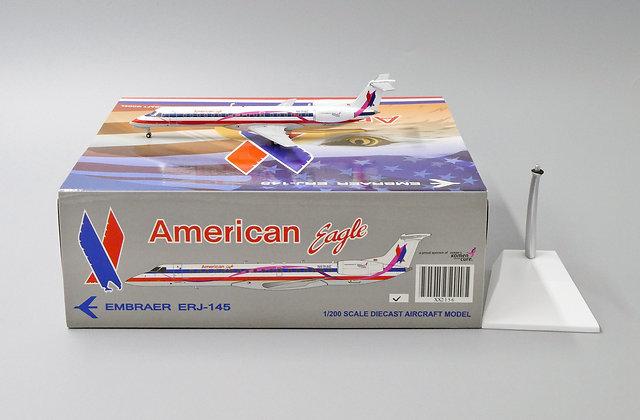 American Eagle ERJ145 Reg:N691AE Scale 1:200 Diecast MODEL XX2156