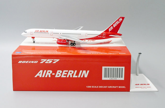 Air Berlin B757-200 Reg: HB-IHR JC Wings Scale 1:200 Diecast model LH2200
