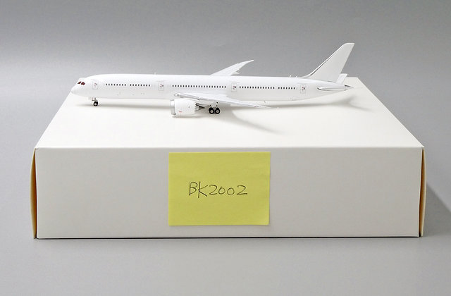 Blank B787-10 JC Wings Scale 1:400 Diecast model BK2002
