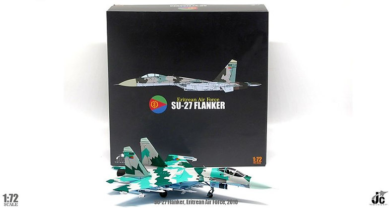 Su-27 Flanker Eritrean Air Force, 2010 Reg: 608 Scale 1/72 JCW-72-SU27-007