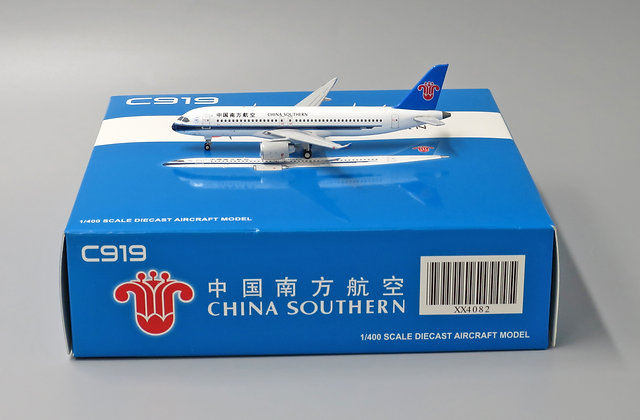 China Southern C919 JC Wings Scale 1:400 Diecast model XX4082