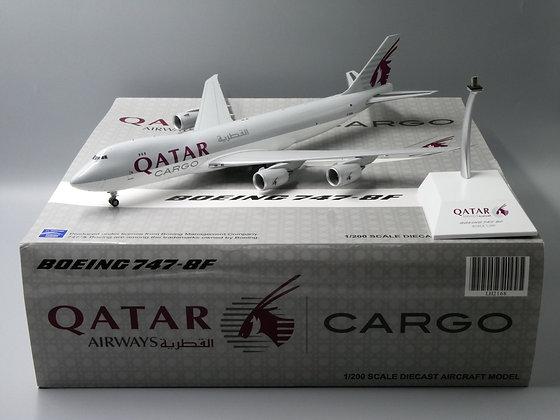 Qatar B747-8F Cargo Reg: A7-BGB JC Wings 1:200 Diecast Models LH2168
