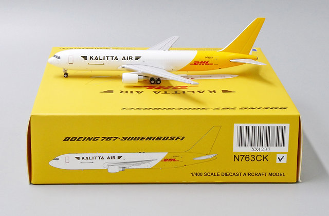 Kalitta Air B767-300ER(BDSF) Reg: N763CK JC Wings 1:400 Diecast Model XX4237
