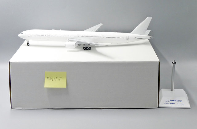 """Boeing B777-300 """"Blank Series"""" JC Wings Scale 1:200 Diecast Model BK1035"""