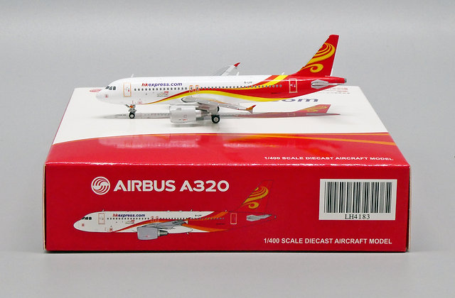 HK Express A320 Reg: B-LPF Scale 1:400 Diecast Model JC Wings LH4183