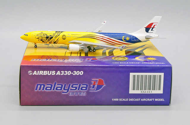 Malaysia Airlines A330-300 Reg: 9M-MTG JC Wings Scale 1:400 Diecast model XX4483