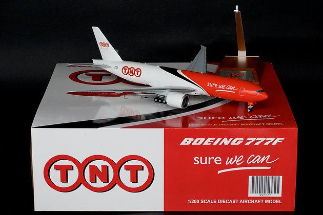 TNT Boeing 777-200F Cargo Reg:OO-TSC JC Wings 1:200 Diecast Models XX2227