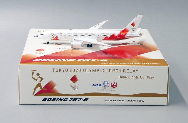 ANA-JAL B787-8 Reg: JA837J Scale 1:500  Diecast model PX5008