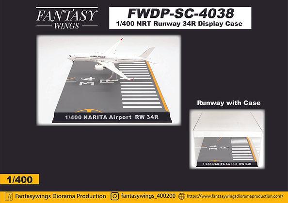 NRT Runway 34R Display Case Scale 1:400 Fantasywings FWDP-SC-4038