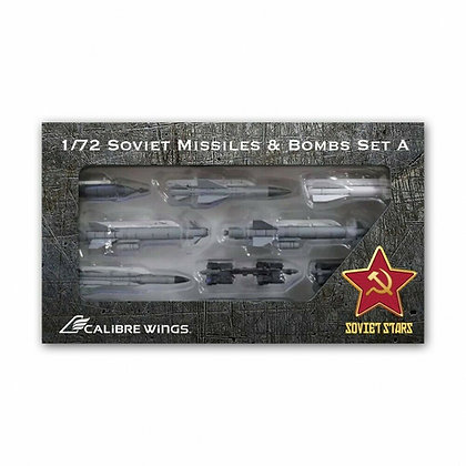 Calibre Wings 1/72 Soviet Stars Missiles & Bombs Set A for Su-24 Fencer CA72EW01