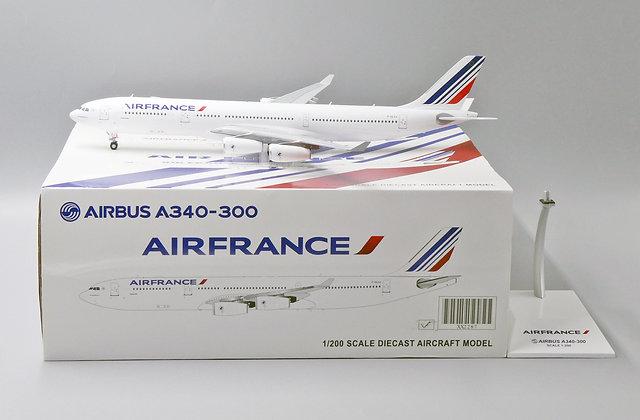 Air France A340-300 Reg: F-GLZJ JC Wings Scale 1:200 Diecast model XX2287