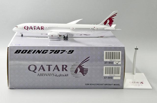 //LAST// Qatar Airways B787-9 Reg: A7-BHA JC Wings Diecast Scale 1:200 XX2331