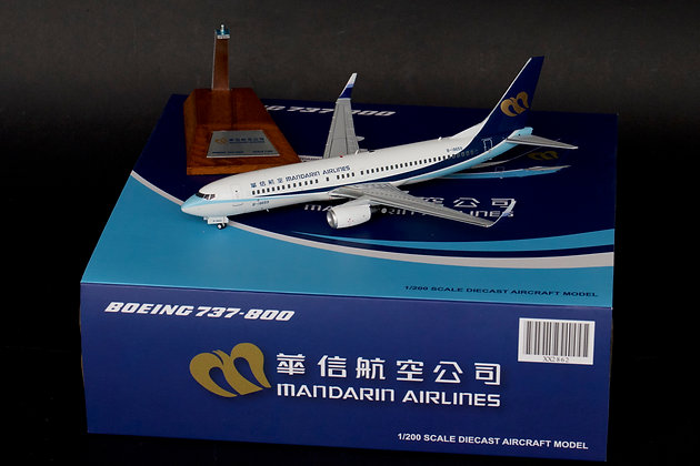 Mandarin Airlines Boeing 737-800 B-18659 JC Wings 1:200 Diecast Models XX2862