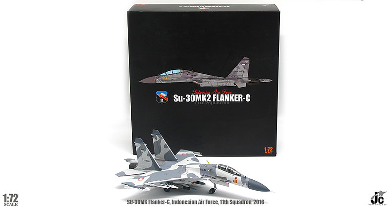 Su-30MK Indonesian Air Force, 11th Squadron, 2016 Scale 1/72 JCW-72-SU30-007