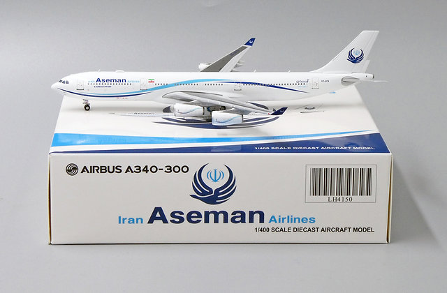 Iran Aseman Airlines A340-300 Reg: EP-APA JC Wings Scale 1:400 Diecast LH4150