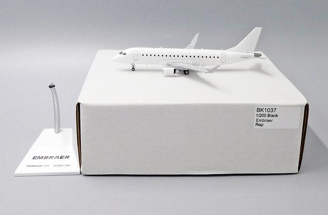 Blank EMBRAER 175 JC Wings Scale 1:200 Diecast model BK1037