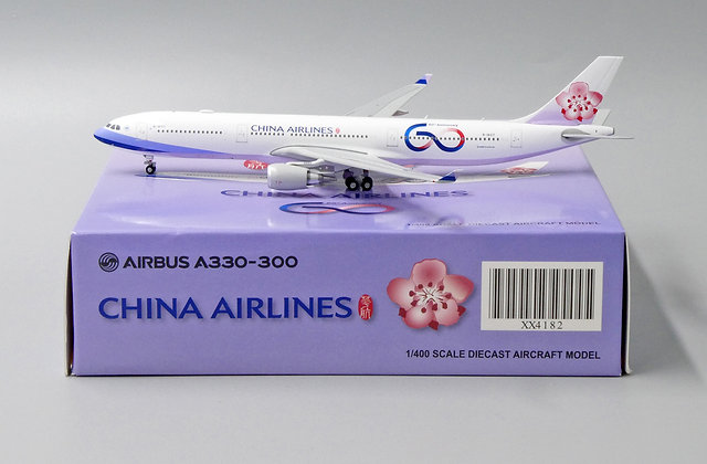 China Airlines A330-300 Reg: B-18317 JC Wings Scale 1:400 Diecast model XX4182