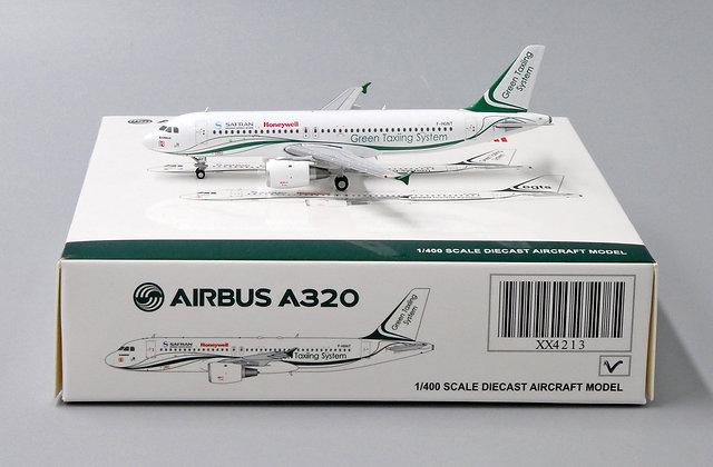 Safran Honeywell A320 Reg: F-HGNT JC Wings Scale 1:400 Diecast Model XX4213