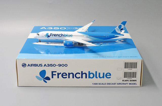 French Blue A350-900 FLAPS DOWN Reg: F-HREU JC Wings 1:400 Diecast MODEL LH4080A