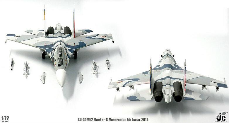 SU-30MK2 Flanker-G Venezuelan Air Force 200 Years of Indep 1/72 JCW-72-SU30-004