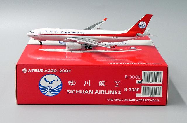 Sichuan Airlines A330-200F Reg: B-308Q JC Wings Scale 1:400 Diecast model LH4146
