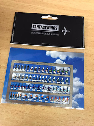 Airport Passenger Plate Scale:1/400 60pcs FANTASYWINGS  FW4P01