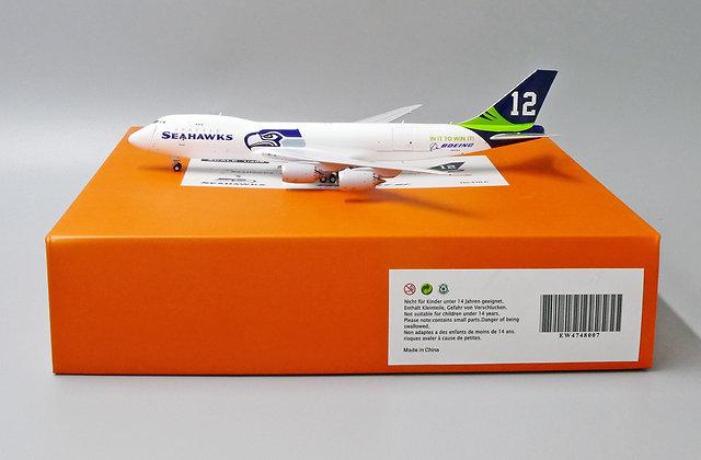 "Boeing Company  Boeing 747-8F ""Seattle Seahawks Livery""  1/400 N841BA EW4748007"