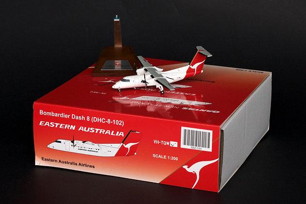 Eastern Australia Dash8 Reg: VH-TQW JC Wings 1:200 Diecast Models XX2586