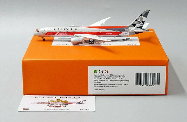 //DEFECTIVE//Etihad Airways B787-9 A6-BLV JC Wings Scale 1:400 Diecast EW4789002
