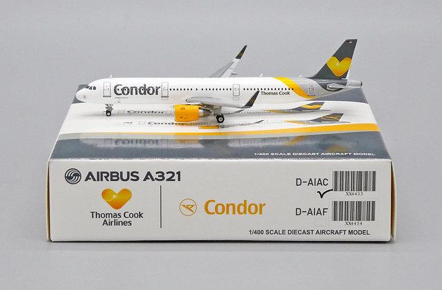 Condor A321 Reg: D-AIAC Scale 1:400 JC Wings Diecast Model XX4433 Rare!!