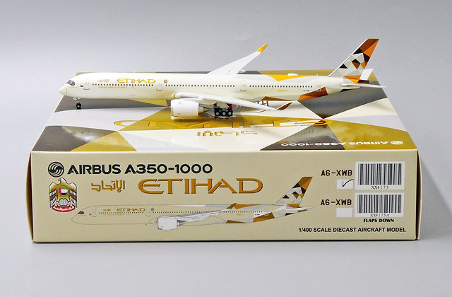 Etihad Airways A350-1000 Reg: A6-XWB JC Wings Scale 1:400 XX4175
