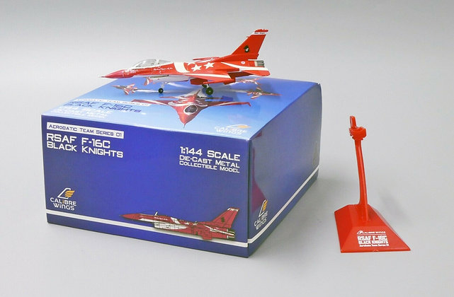 Calibre Wings Singapore Air Force 1/144 F-16C Black Knights Team No.4