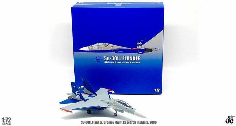 Su-30LL Flanker Gromov Flight Research Institute, 2006 Scale1/72 JCW-72-SU30-006