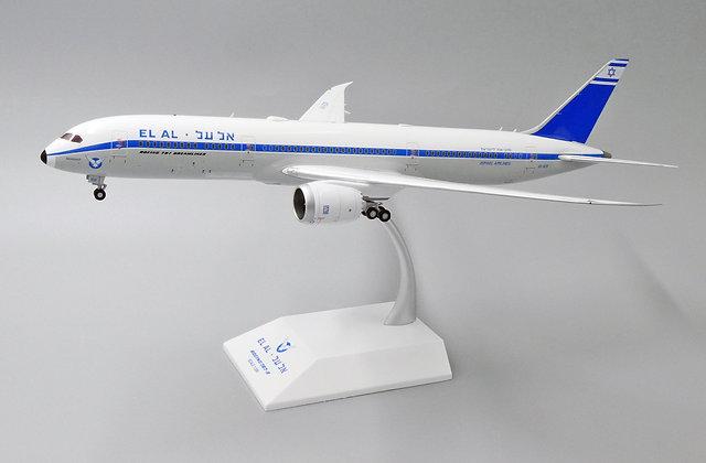 //White BOX //EL AL Israel B787-9 Retro Reg: 4X-EDF JC  Diecast 1:200 XX2146