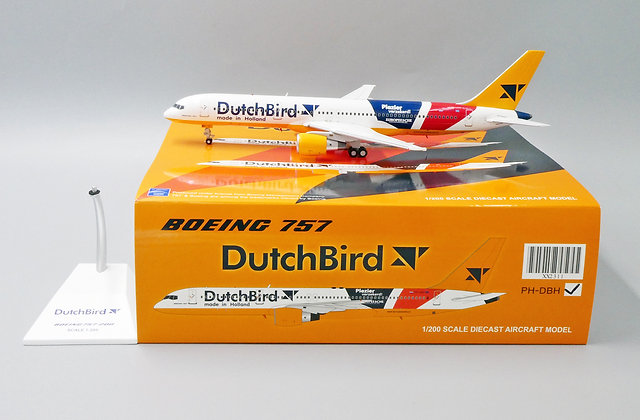 DutchBird B757-200 Reg: PH-DBH JC Wings Scale 1:200 Diecast model XX2311