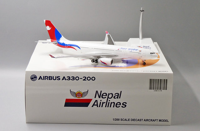 Nepal Airlines A330-200 Reg: 9N-ALY JC Wings 1:200 Diecast Models LH2130