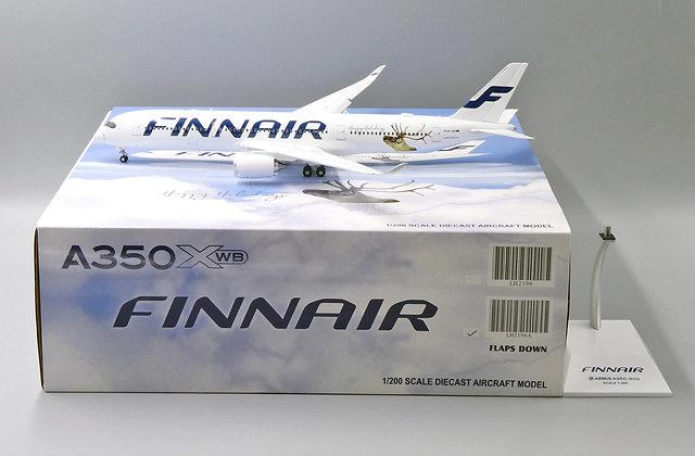 Finnair A350-900 OH-LED FLAP DOWN Version JC Scale 1:200 Diecast models LH2196A