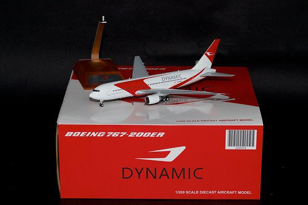 Dynamic Airways Boeing 767-200ER Reg:N253MY JC Wings 1:200 Diecast Models LH2020