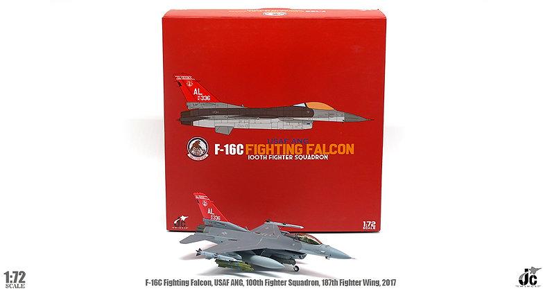 F-16C, Alabama National Guard,100th fighter squadron, 2017 1/72 JCW-72-F16-009