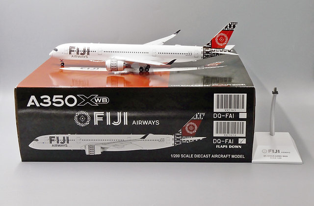 FI JI Airways A350XWB Reg: DQ-FAI JC Wings Flaps Down 1:200 Diecast XX2363A