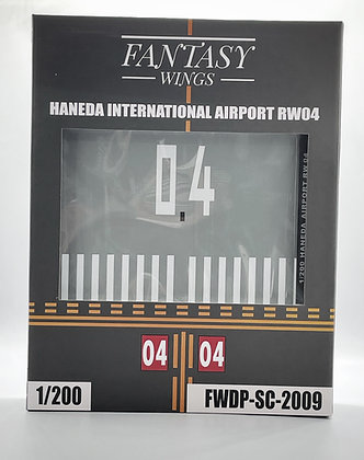 Haneda Airport Runway 04 Display Stand Scale 1:200 Fantasywings FWDP-SC-2009