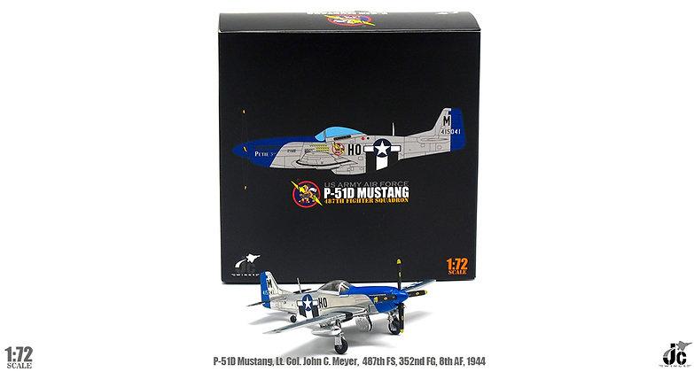 P-51D Mustang,Lt Col.John C.Meyer,487th FS,352nd FG,8th AF, 1/72 JCW-72-P51-002
