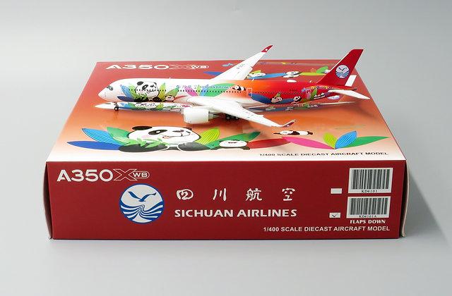 Sichuan A350-900 Version:FLAPS DOWN Reg:B-301D 1:400 KD4101A