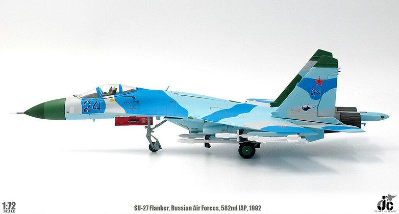 SU-27 Flanker Russian Air Force 582nd IAP Poland 1/72 JCW-72-SU27-005