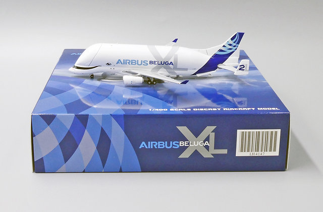 AirBus House Color A330-743L Beluga XL #2 Reg:F-WBXS Scale 1:400 Diecast LH4147