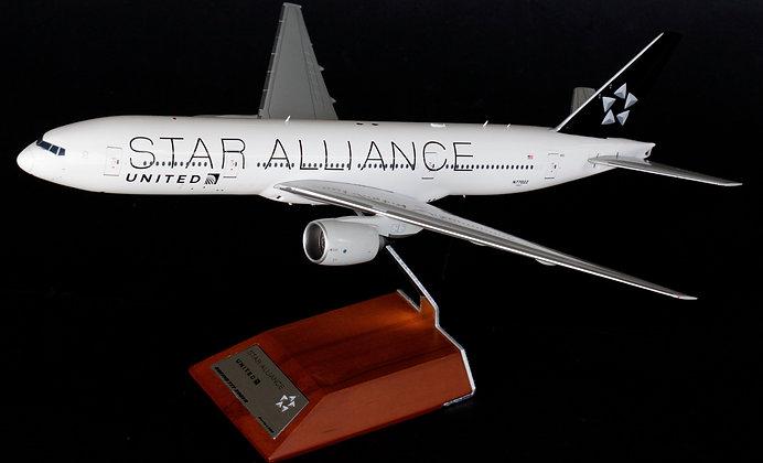 "//White BOX //United B777-200ER ""Star Alliance"" N77022 JC  1:200 Diecast XX2966"